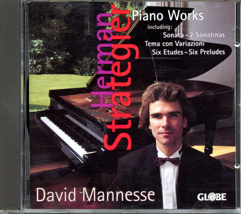 CD Piano Works door David Manesse